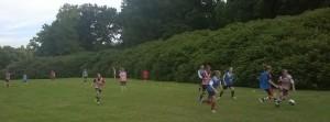 Action im Hirschparkstadion - II